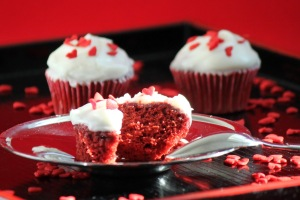 Easy Red Velvet Fairy Cakes